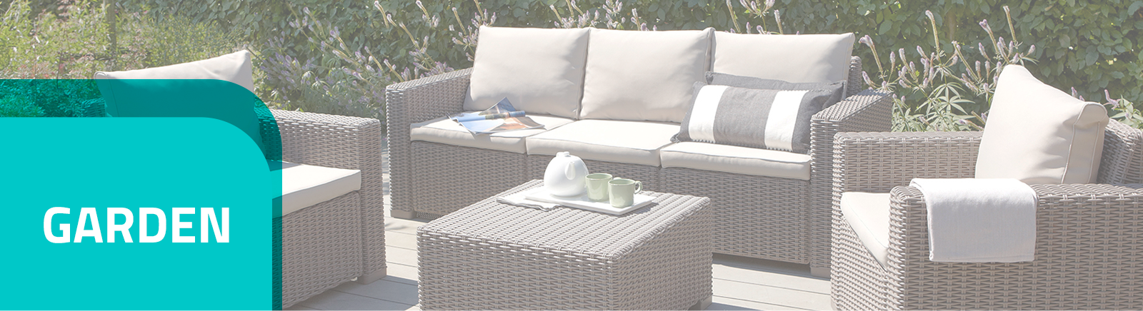 Garden and patio furniture and furniture sets
